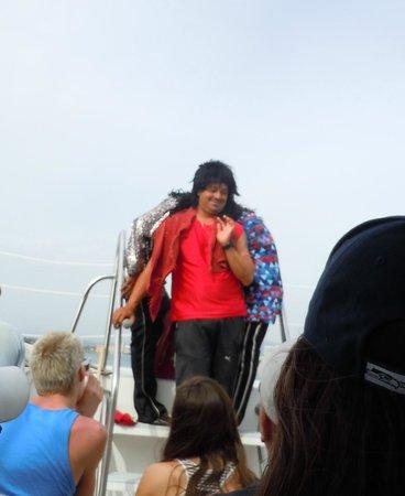 Vallarta Adventures - Las Caletas Beach Hideaway: OMG, so funny!!!