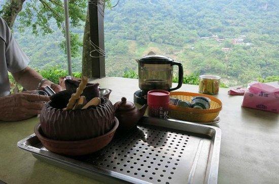 Maokong mountain: 茶畑を見ながらゆっくりとした時間