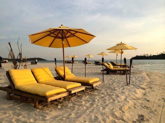 Soneva Kiri Thailand: The beach