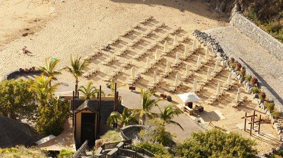 The Ritz-Carlton, Abama: beach view from top