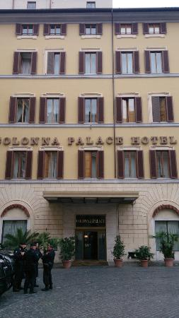 Photo of Colonna Palace Hotel taken with TripAdvisor City Guides
