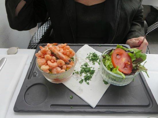 Le Cocodile: Shrimps