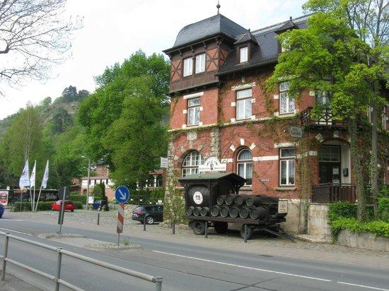 Braugasthof Papiermuhle : We were in room on top?