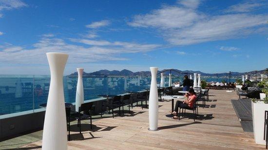 Radisson Blu 1835 Hotel & Thalasso : Terrasse