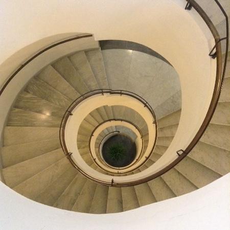 staircase at Best Western Premier Hotel Sant'Elena