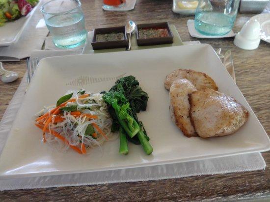 Sardine: Pan seared fish filets with green nam jim