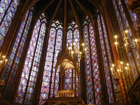 Sainte-Chapelle : Vetrate