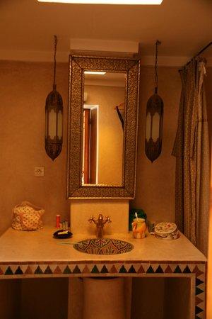 Riad Zineb : Salle de bain