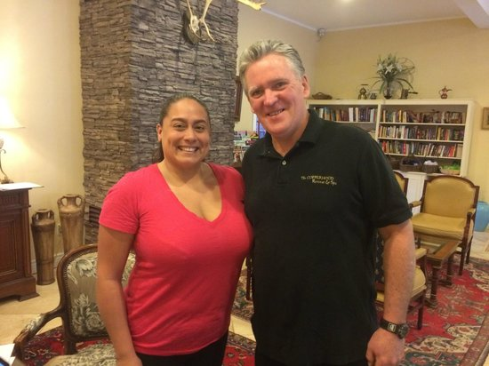 Copperhood Retreat & Spa : On my last day, picture with Brian.