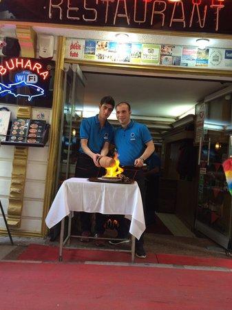 Sultanahmet Buhara Kebab House : Plato turco de pollo, buenísimo!