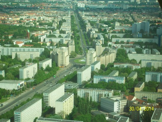 Savoy Hotel Berlin : view from tower.
