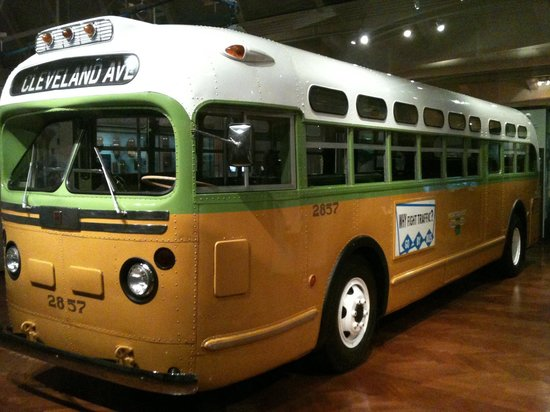 The Henry Ford: This is the bus on which Rosa Parks was riding when she refused to give up her seat, igniting th