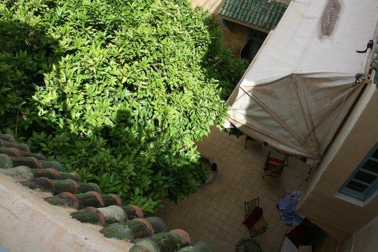 Dar Marhaba: Blick in den Hof