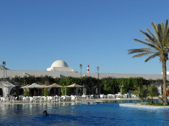 Seabel Rym Beach : la piscine