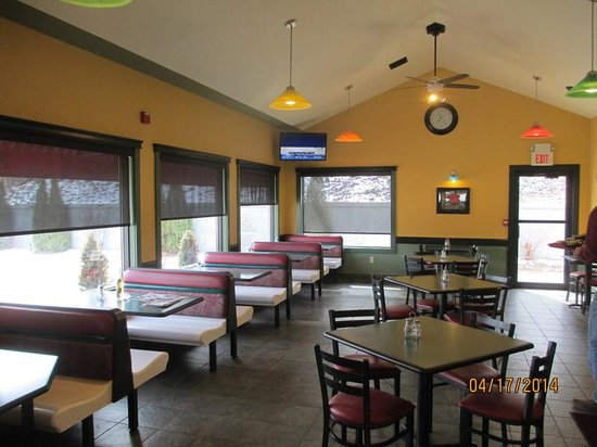 Village Pizza Dining Room