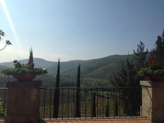 Hotel Villa Campomaggio Resort & Spa : View from terrace