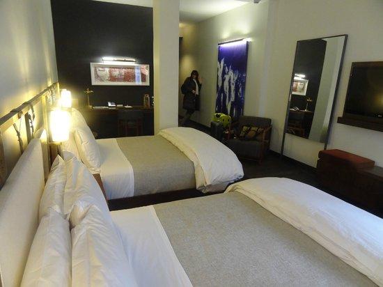 Refinery Hotel: chambre