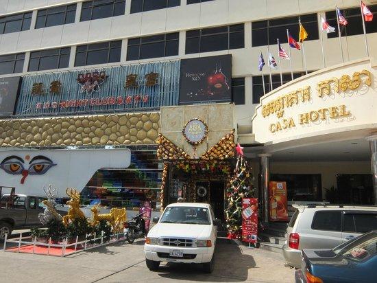 كازا بوتيك هوتل: Main entrance
