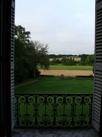 Chateau de Chanteloire : par la fenêtre