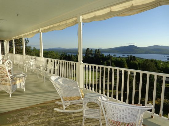 Blair Hill Inn: Oh...the veranda