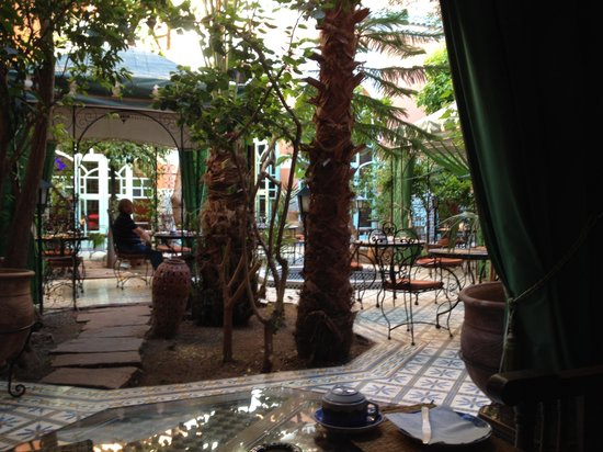 Riad Catalina: corte interna