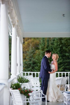 Blair Hill Inn : The grand porch is an inviting spot to relax and for taking that special photograph