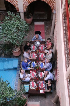 Riad Zen House : Un groupe de randornithos heureux… Merci à Carla et son équipe !