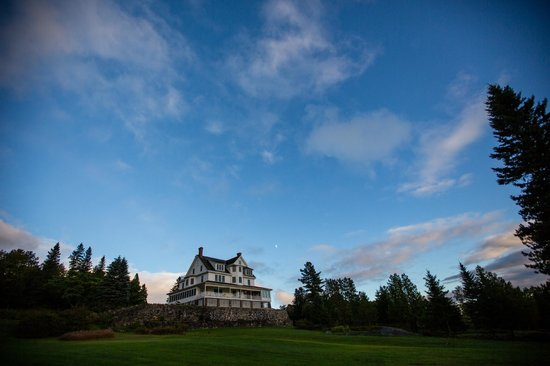 Blair Hill Inn : It's like a mansion in the sky!