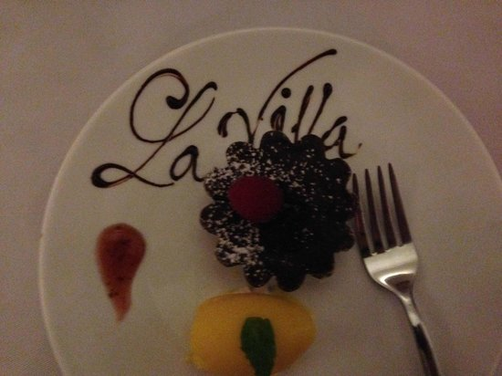 La Villa French Restaurant: Tasting menu - course 9