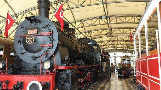 Le musée Rahmi M. Koç : A proper train