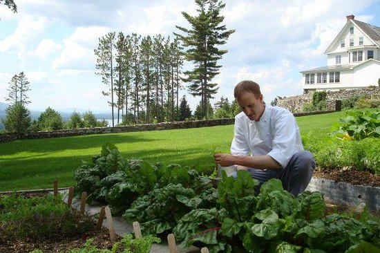 Fresh picked produce from Blair Hill Inn's own gardens & greenhouse