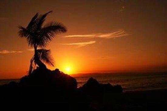 Albergue La Piña B&B: SUNSEY DECK IN LA PIÑA LODGE