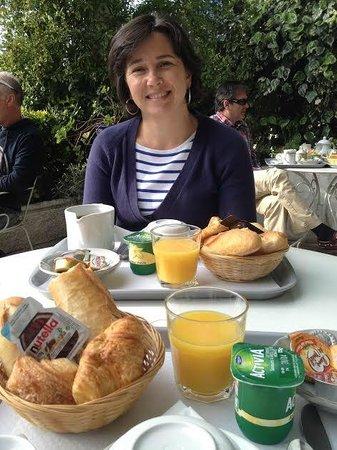 Hotel Albert 1er Cannes: Petit déjeuner sur la terrasse