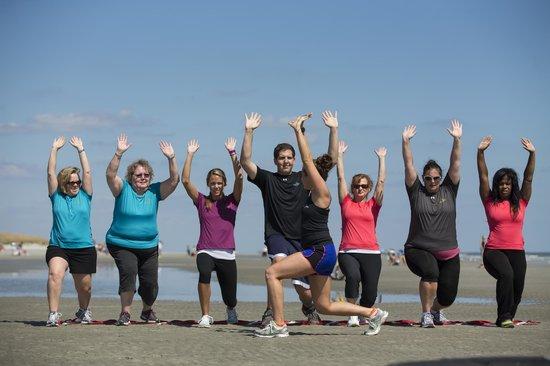Hilton Head Health: Group Fitness: Beach Boot Camp