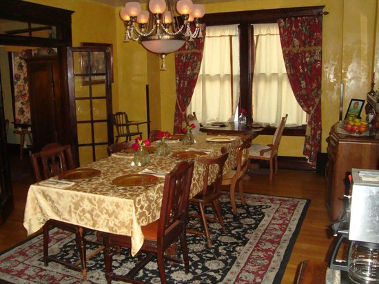 Downtown Historic Bed & Breakfasts of Albuquerque: Comedor