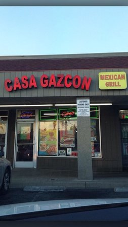 Casa Gazcon Mexican Grill: Front of business