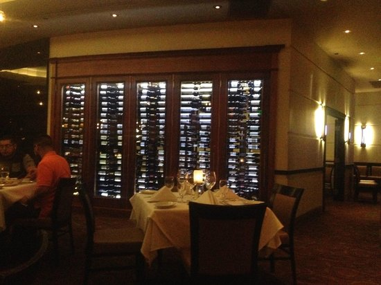 Ruth's Chris Steak House - Mohegan Sun at Pocono Downs: Ruth's Chris Wine Cellar