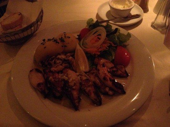 Restaurante Porto: Calamari buonissimi