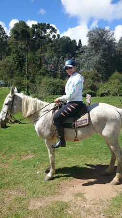 Hotel Vila Inglesa: passeio a cavalo no hotel