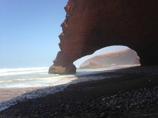 Legzira Beach : арка