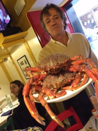 Osteria del Marinaio : fresh crabs