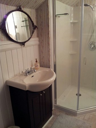 """Andrea's Bed and Breakfast : """"Newly Renovated"""" Private Bathroom for Antique Queen Bedroom"""