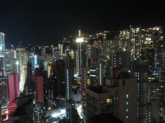Lan Kwai Fong Hotel: Ausblick