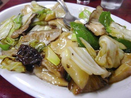 Eiwarou: 椎茸炒め