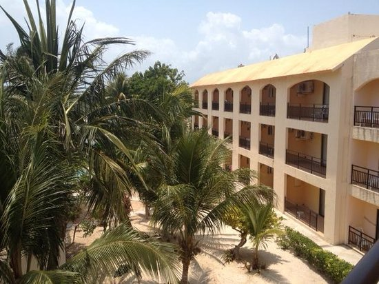 Hotel Posada Del Mar: View from the third floor