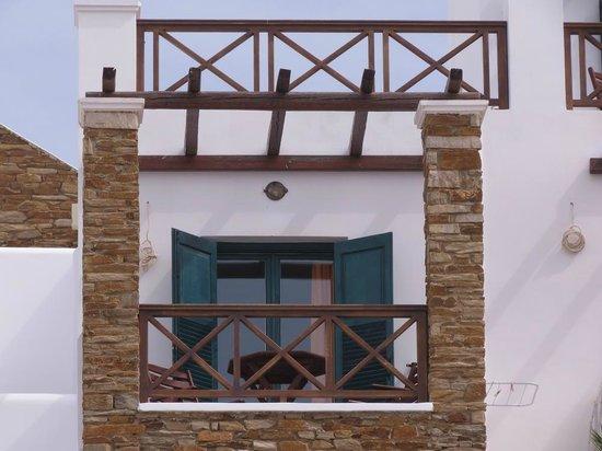 Hotel Katerina: Room 7 terrace