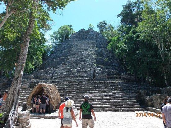 Ruinas de Coba: Temple at Coba