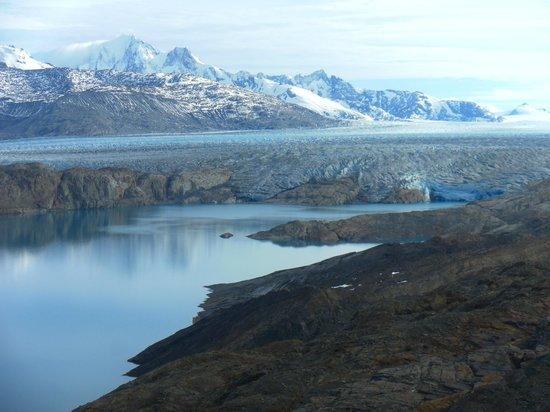 Upsala Glacier: Vista desde o mirador