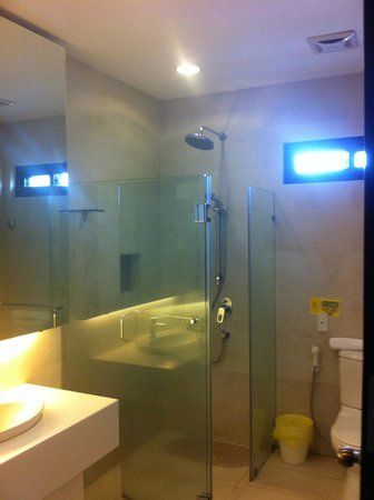 Segara Suites : Shower only, no bath tub