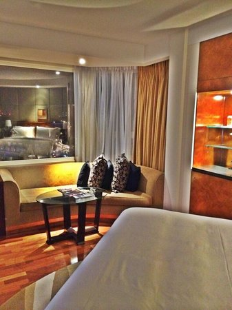 The Park Tower Knightsbridge, A Luxury Collection Hotel, London : The fabulous panoramic Room